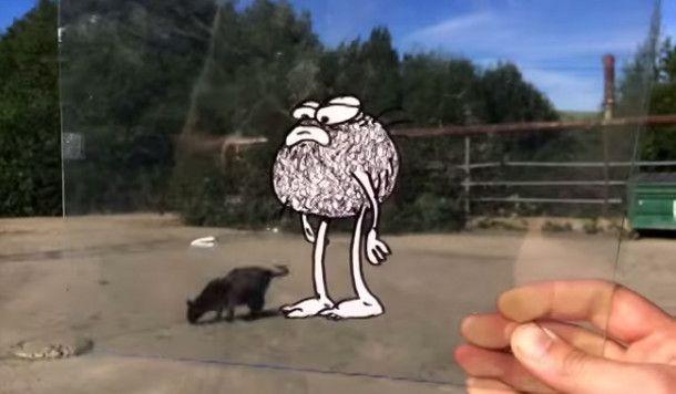 Vermakelijke stop-motion animatie voegt stripfiguren toe aan het alledaagse leven - EYEspired