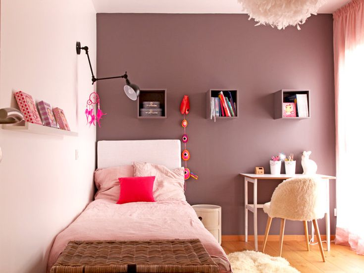 17 id es propos de d co chambre ado fille sur pinterest for Decoration chambre de fille