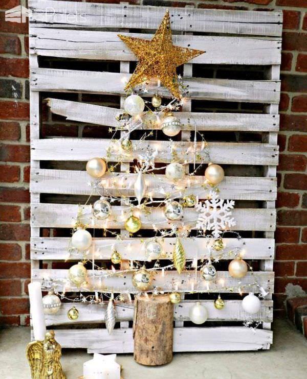 26 best christmas home decor images on pinterest pallet for Pinterest pallet christmas ideas
