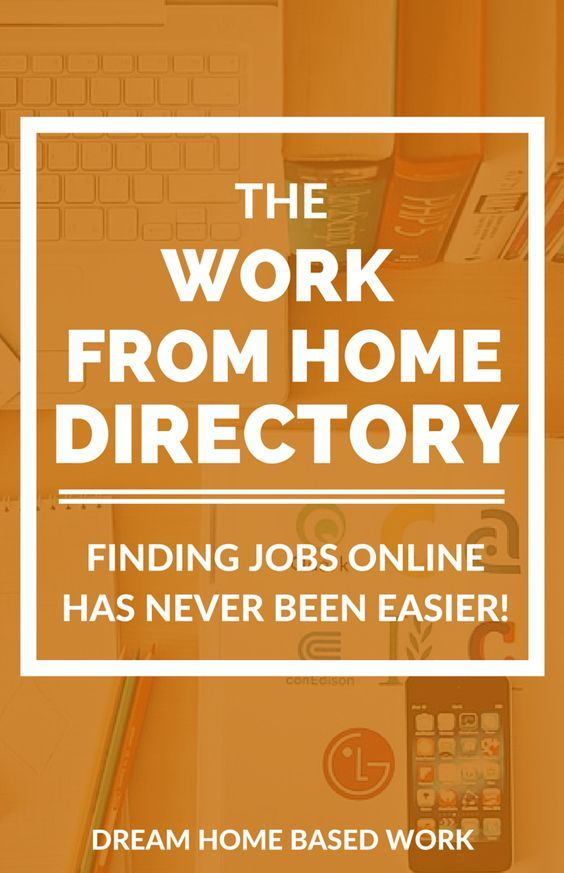 Free Work at Home Directory with more than 200 home-based opportunities.