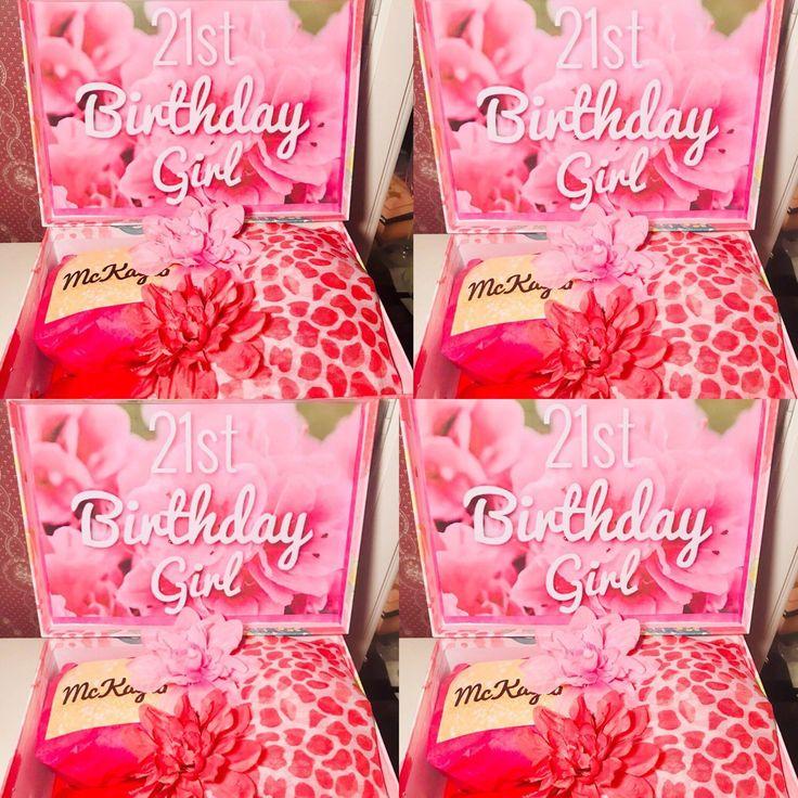 21st Birthday YouAreBeautifulBox. Birthday Girl Care