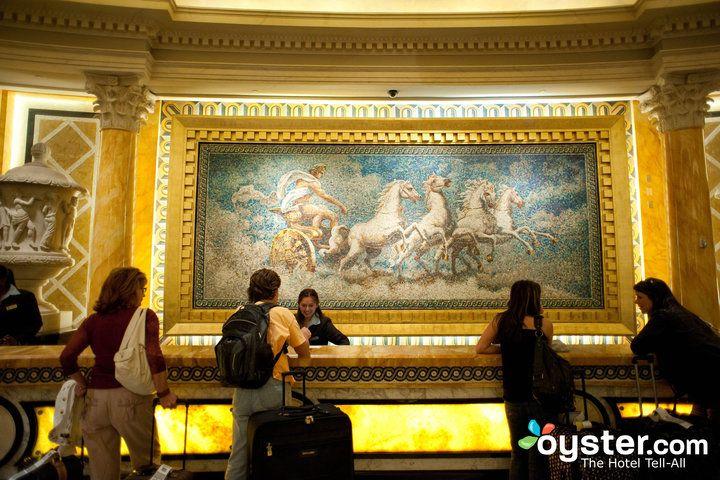 Front Desk at Caesars Palace Hotel & Casino