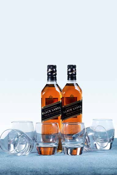 how to drink black label
