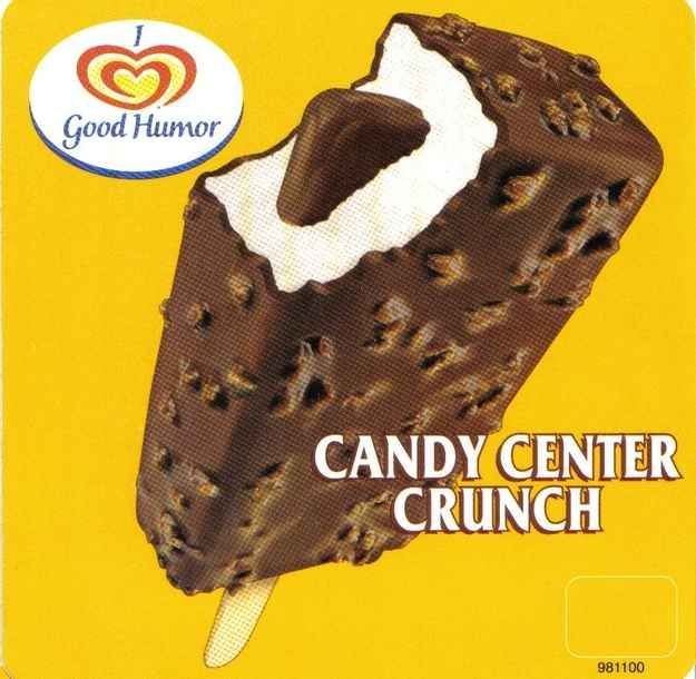Candy Center Crunch Bar | The Definitive Ranking Of Classic Ice Cream Truck Treats