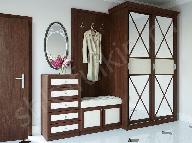 Классика всегда в моде! #классический #стиль #прихожая #мебель #шкаф #клиссечкийшкаф #design  #classic  #interior  #классика