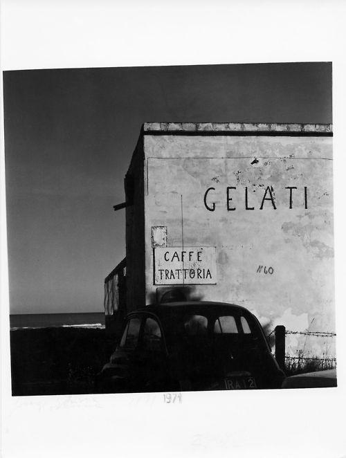 Guido Guidi, Fosso Ghiaia, Italie, 1971