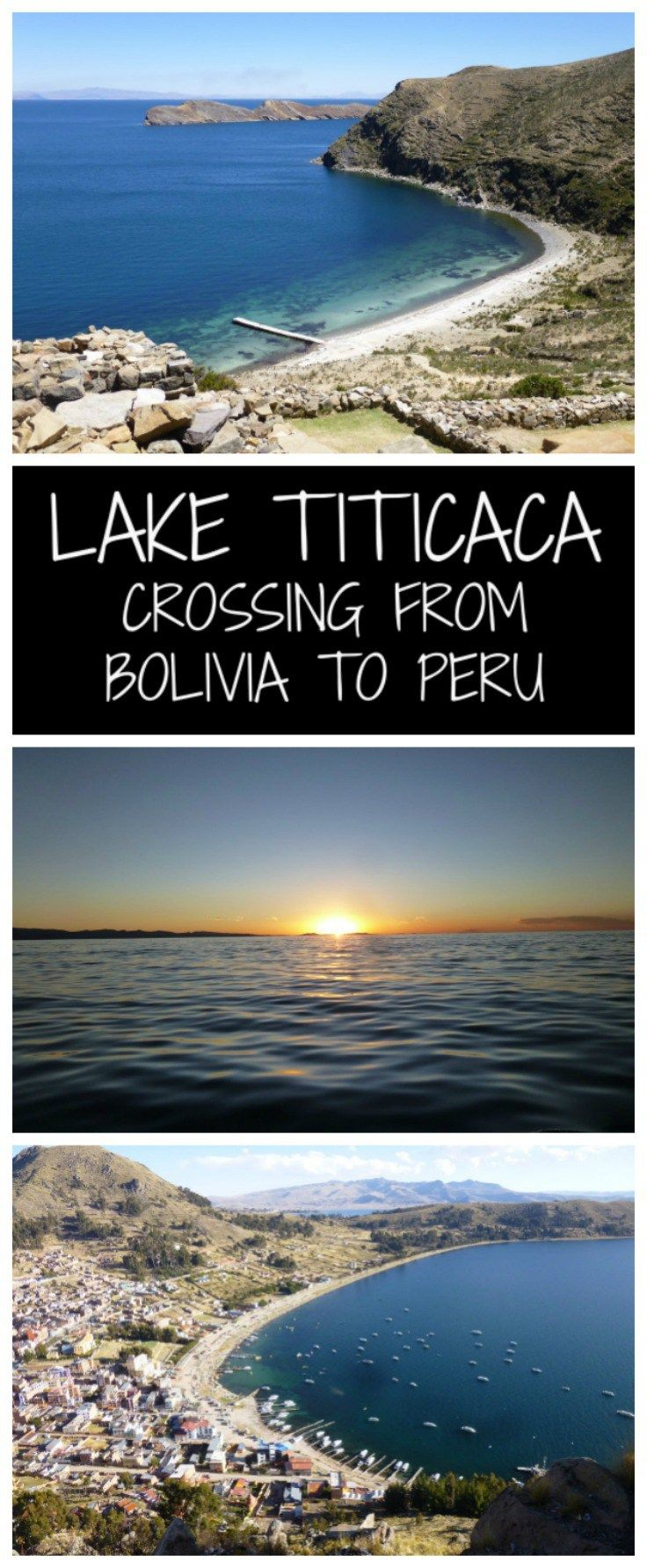 Lake Titicac Crossing from Peru to Bolivia