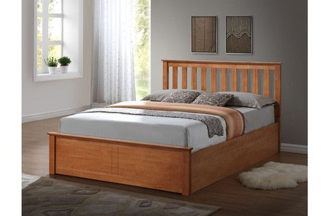 Birlea Wooden Bed with storage gas lift up bed available in small double, double and king