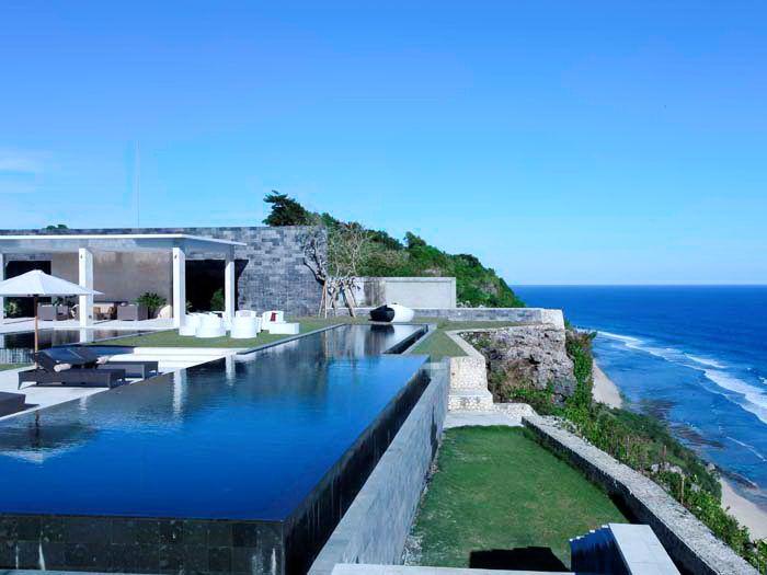 The Sanctus   3 bedroom   Uluwatu,Bali #cliff #wedding #event #venue #swimmingpool #infinitypool #dreamhouse
