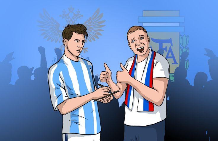Россия  Аргентина. Прогноз Остапа Бендера
