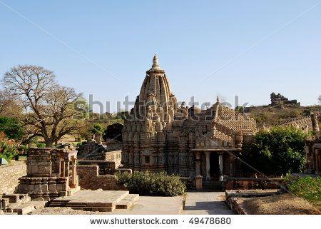 Chittorgarh fort. India