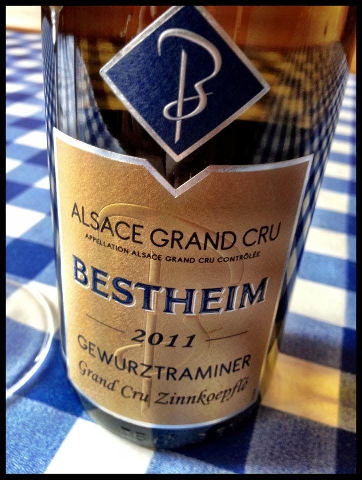 El Alma del Vino.: Bestheim Gewürztraminer Grand Cru Zinnkoepflé 2011.