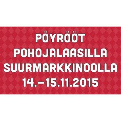 Pöyrööt Seinäjoki Areenas 14.-15.11 Pohojalaasilla Suurmarkkinoolla!  Pöyrööt  Oikias olemisen opas ja muut sarjakuvakirjat ja tekstiilit saatavana Pohojalaasilla Suurmarkkinoolla. Tuu hakemahan omas käsikirjoottajan signeerauksella!  Taphtuma on avonna:  La 9-18 Su 10-17. Tervetuloa! #Seinäjoki #Pohjanmaa #Pöyrööt