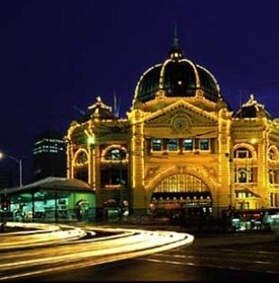 Flinders Street Station, Melbourne, Victoria.