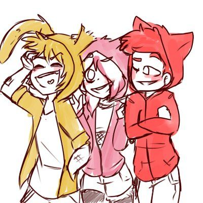 Springtrap,Mangle and Foxy. FNAF