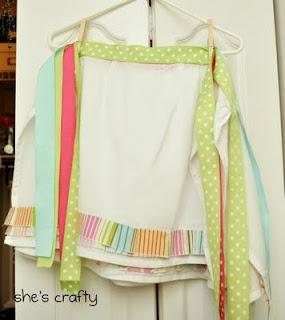 A simple apron