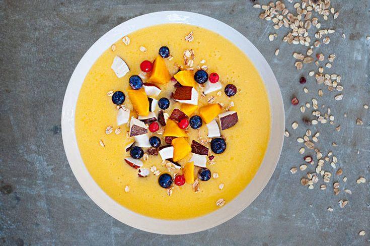 Recept: Mango Ananas Smoothie Bowl - Heerlijk & gezond!