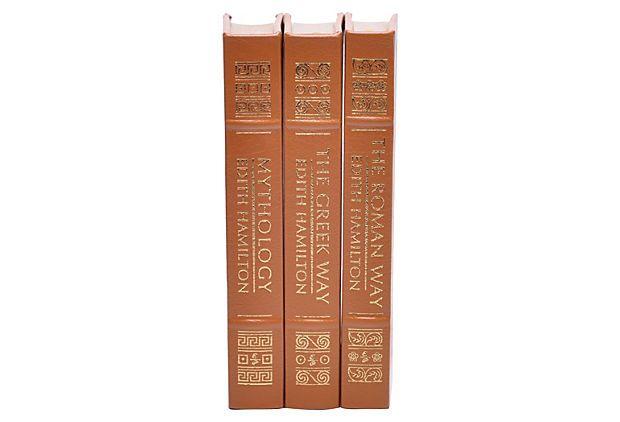 Edith Hamilton Mythology Set, 3 Vols on OneKingsLane.com