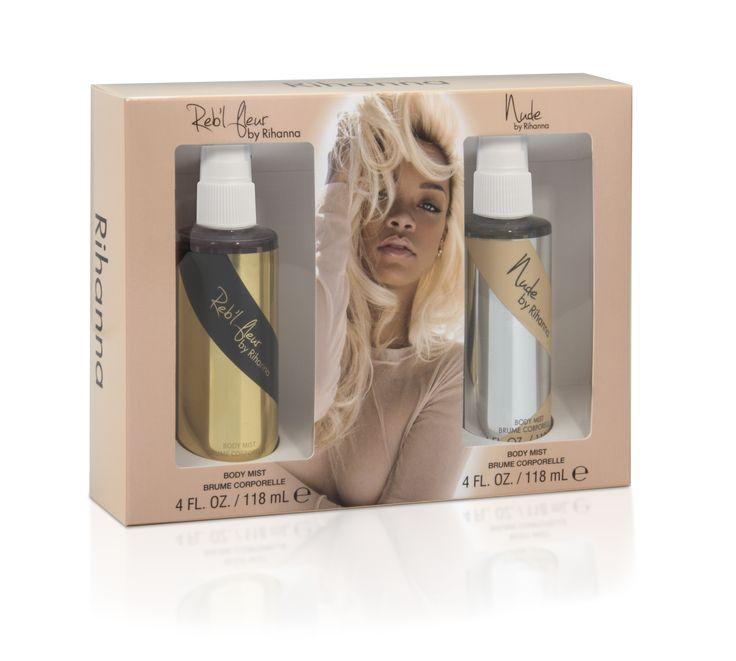 Rihanna Reb'l Fleur Reb'l Fleur 4 Fl. Oz. & Nude 4 Fl. Oz. Body Spray Set