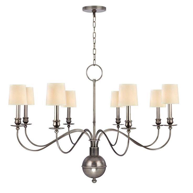Cohasset Transitional Chandelier. Silver ChandelierDining Room ...