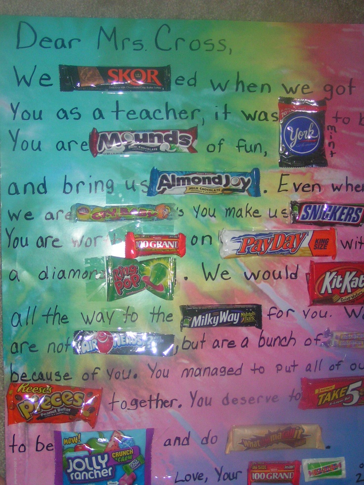 1000 Images About Candy Cards On Pinterest Birthdays