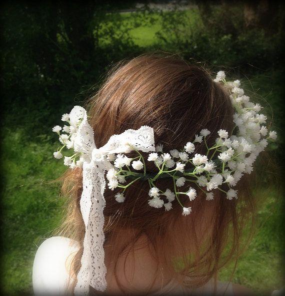 Artificial wedding hair accessories Bridesmaids by FlowersbySara