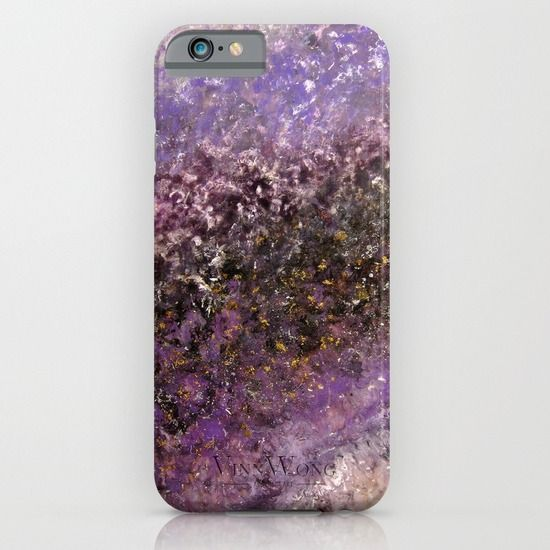 Deep purple space and galaxy inspired abstract phone case design for iPhone 6, iPhone 5S/C, iPod Touch, Galaxy s6/s5/s4 | International Shipping | Full collection www.vinnwong.com | Click to Shop or Pin it For Later!