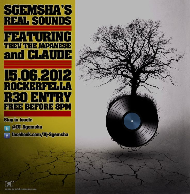 Flyer design for club event.
