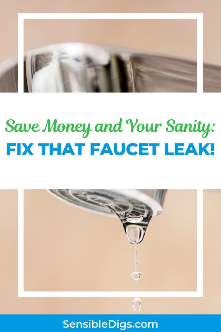 How To Fix A Leaky Kitchen Faucet 5 Different Ways With Images