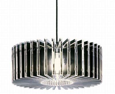 Cd case chandelier