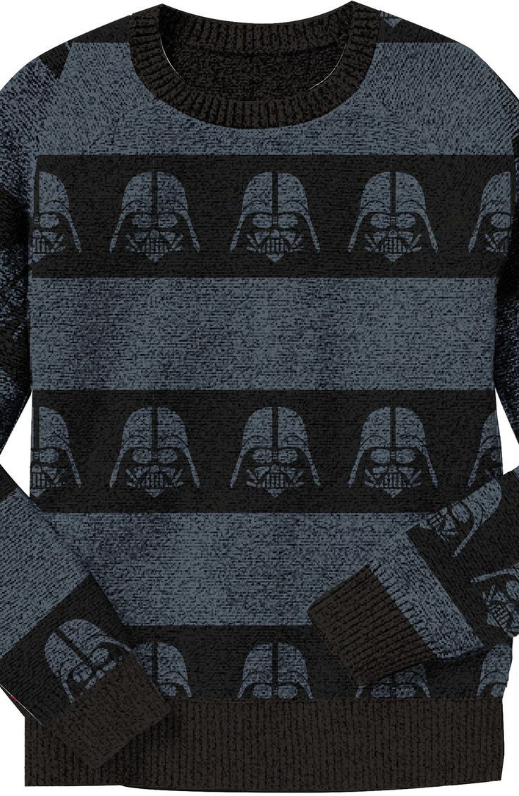 Dark Stripe Of The Force Sweater: Star Wars Mens Sweater