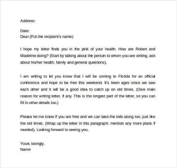 formal sick leave letter