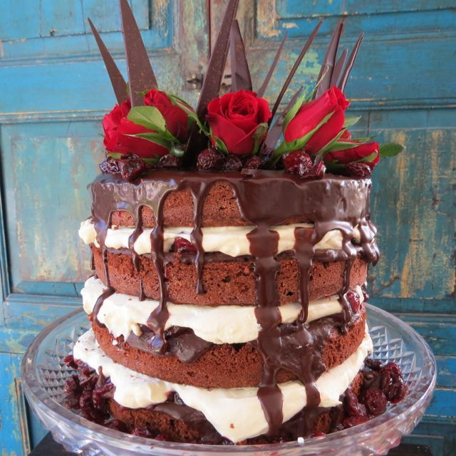 Black Forest Cake for special birthday
