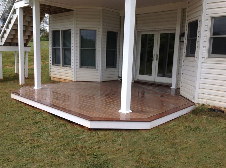 Best images about hnh low maintenance wood decks on
