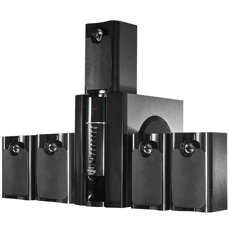 5.1 Bluetooth Surround Sound Speaker System Subwoofer Wireless Home Theater NEW #Frisby