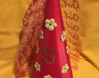 Roze prinses hoed van PrincessPatcheys op Etsy