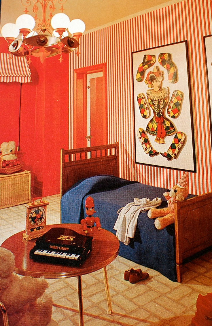728 best retro rooms images on pinterest | vintage interiors