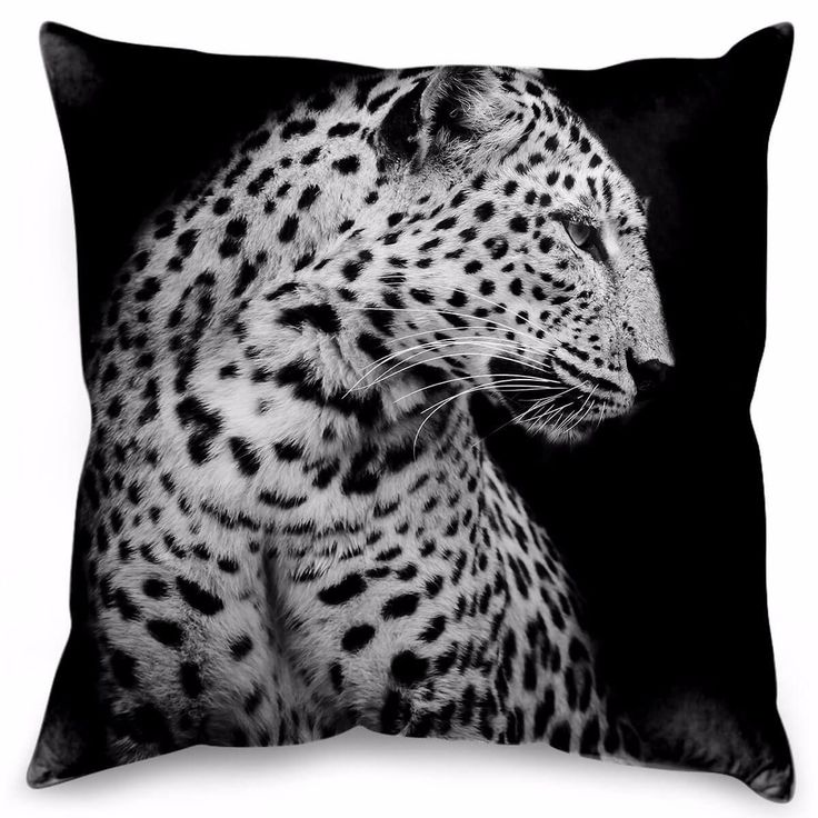 With its bold, monochromatic look, this cushion featuring a sleek leopard works with a variety of colours, designs and textures to make your space pop.Featuring a durable concealed zipper, these cushions come pre filled and ready to use. Made of durable polyester with a delicate and subtle texture to present a natural finish that is also soft to the touch. Suitable indoor and outdoor. In outdoor situations, please store cushions when not in use and away from the direct elements.