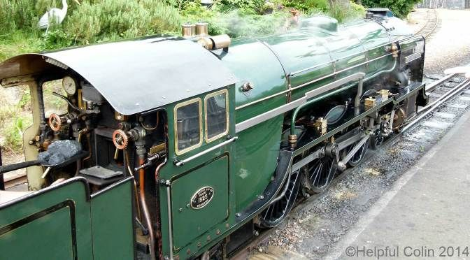 No.2 Northern Chief at New Romney (RH&DR)