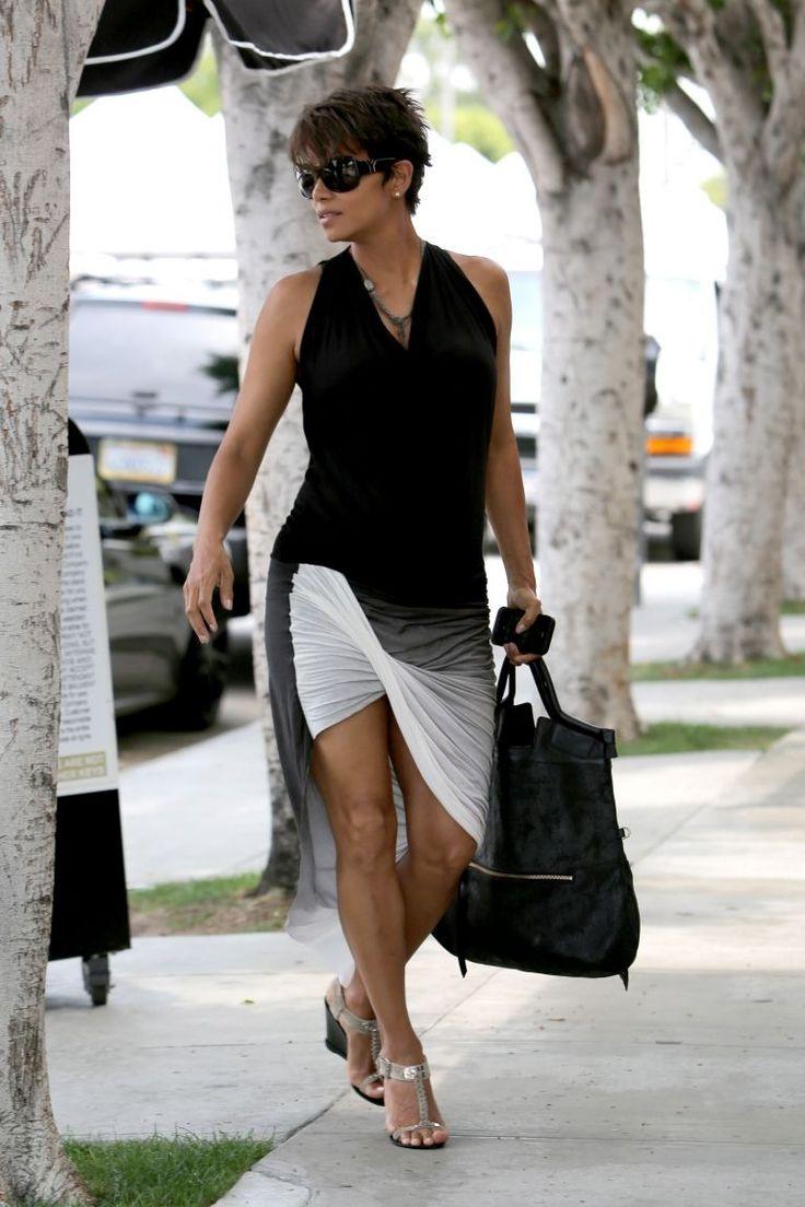 Halle Berry Halle Berry Moda Para Mujer Y Moda Femenina