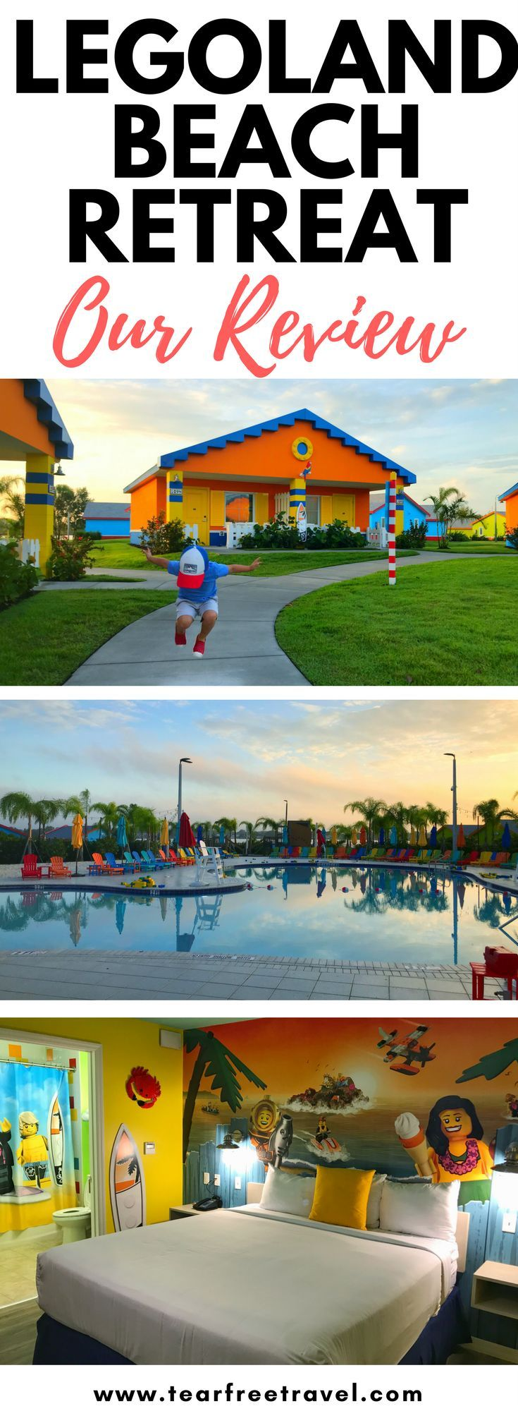 Looking for the best legoland florida hotel? Our review of the fabulous legoland beach retreat. Check out our detailed review of all the resort amenities. The best legoland area hotel! #legoland #legolandflorida #legolandbeachretreat #legolandhotel #legolandfloridahotel
