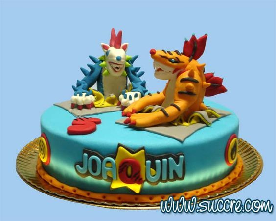 Invizimals Cake - Tarta Invizimals: