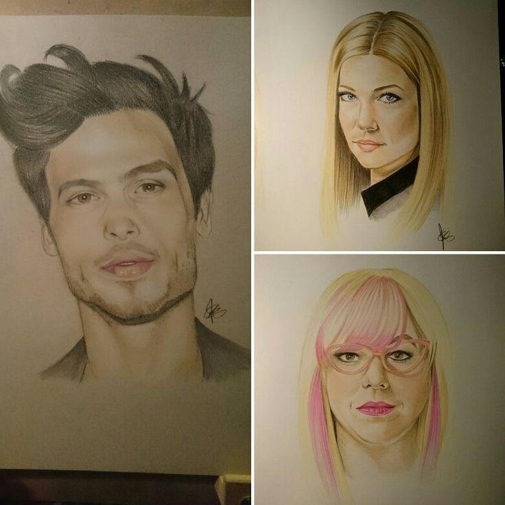 Criminal minds portraits by chalittlefairy #fanart #criminalminds #drawing #art