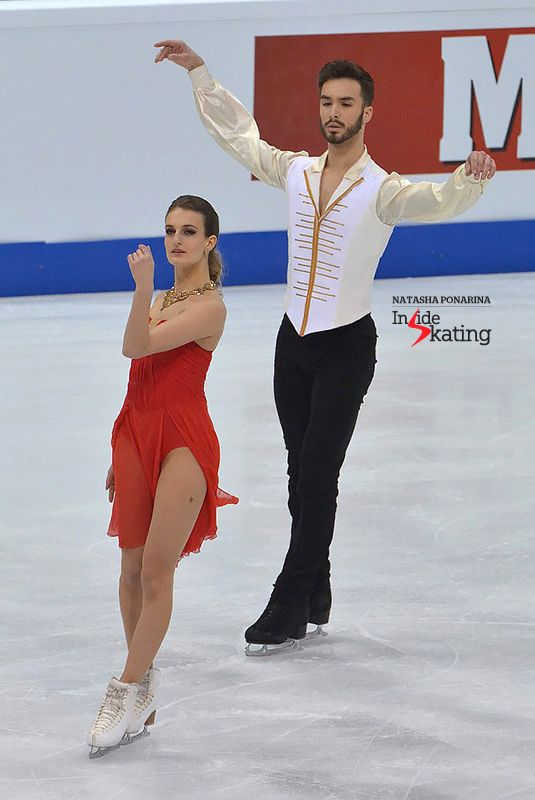 Gabriella Papadakis and Guillaume Cizeron SD 2016 Europeans (2)