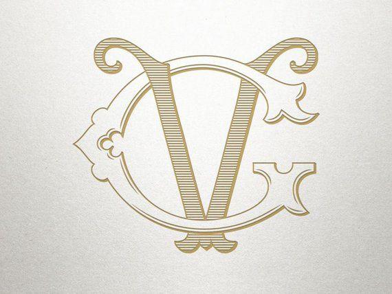 Premade Logo Monogram Gv Vg Premade Logo Digital In 2021 Monogram Logo Monogram Premade Logo