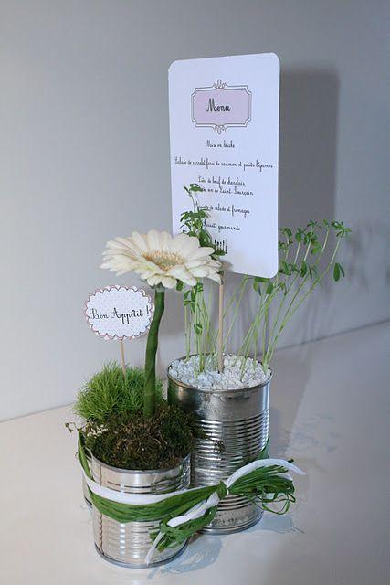 Déco florale baptème homemade