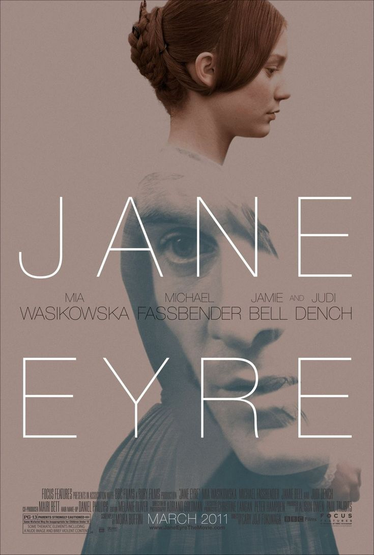 Jane Eyre (Cary Joji Fukunaga, 2011) Design by BLT Communications