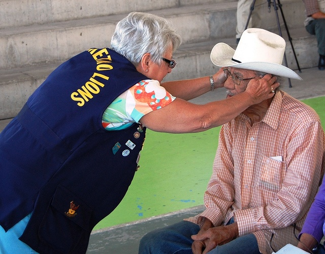 Tucson Downtown Lions Club, USA- Lions traveled to Mexicali, Mexico to provide vision screenings and eyeglasses to hundreds of local residents.