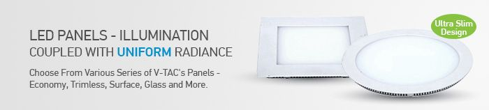 ‪#‎VTAC‬ ‪#‎LED‬ ‪#‎Panel‬ ‪#‎lights‬ are modern slim designed light fixtures which create very soft light effect with high ‪#‎illumination‬ and saving ‪#‎power‬ drastically.