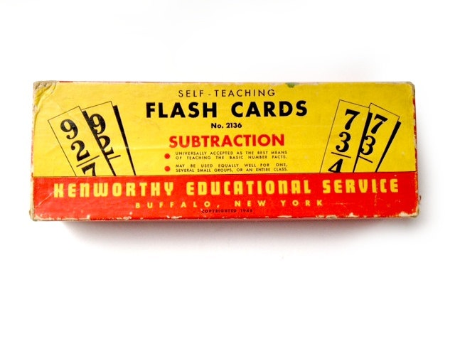 Vintage Flash Cards: Computers, Old Schools, Schools Ideas, Flash Cards, Vintage Wardrobe, Schools Supplies, Schools Flash, Vintage Flash, Vintage Boxes